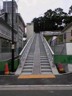 跨線橋 開通