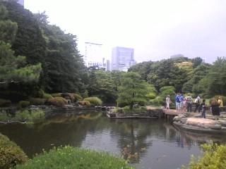 新宿御苑 - 日本庭園方面
