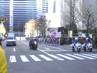 東京マラソン観戦