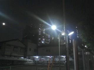 夜の柏木散歩