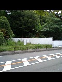 上麻生連行寺線沿いのマンション建設