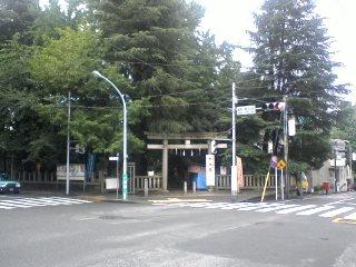 鳩森神社あたり
