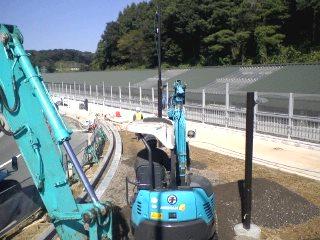 はるひ野駅自転車駐輪場工事