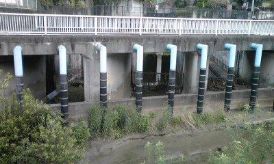 三沢川分水路