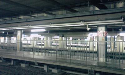 甲州街道新宿駅跨線橋架け換え工事