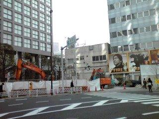 新宿の生コン基地が解体