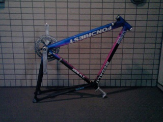 自転車を解体