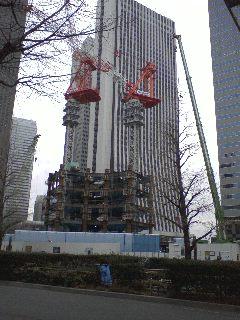 高層ビルが生えてきた