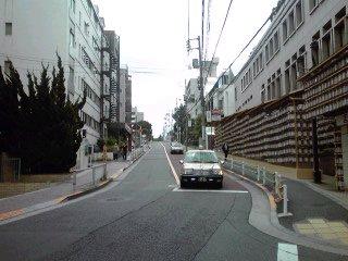 三田三丁目三坂